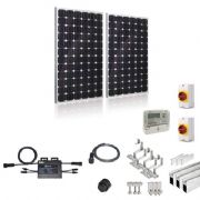Plug-In Solar New Build/Developer 500W 2 Panel Kit